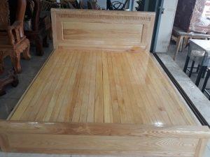 Thanh lý giường phản 1m6 gỗ sồi giá rẻ