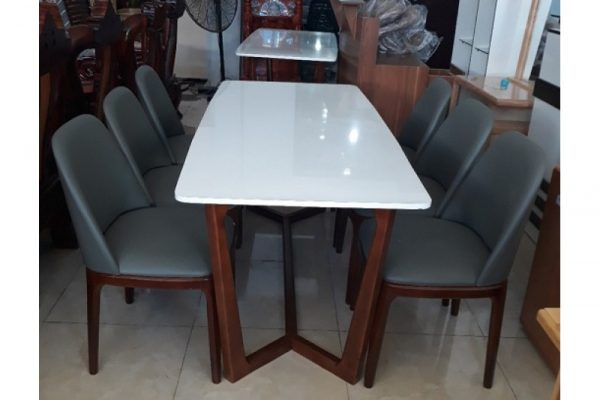 Thanh lý bộ bàn ăn 6 ghế BA06 loại cao cấp
