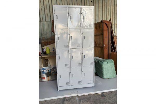 Bán tủ locker cũ 12 ngăn