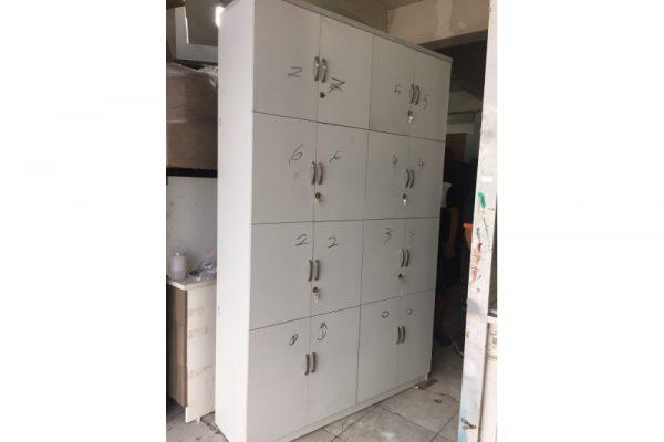 Thanh lý tủ locker cũ 16 ngăn giá rẻ