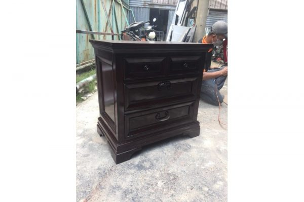 Thanh lý tủ gỗ 3 ngăn cũ mẫu cổ điển