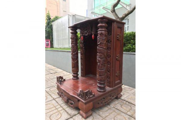 Thanh lý tủ thờ ông địa cũ gỗ cẩm lai giá rẻ