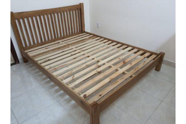 Thanh lý giường gỗ 1m6 cũ mẫu đẹp