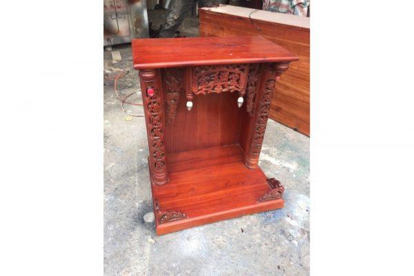 Thanh lý tủ thờ ông địa cũ gỗ xoan đào Mã TKTC02 giá rẻ