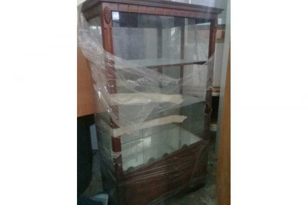 Thanh lý tủ kính trưng bày thấp cũ giá rẻ