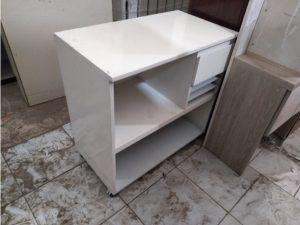Kệ tivi cũ màu trắng ngang 90cm giá rẻ
