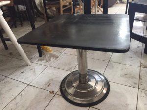 Thanh lý bàn gỗ cafe chân sắt M05