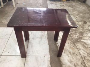 Thanh lý bàn gỗ cafe bệt cũ M11