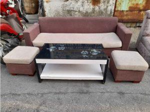 Thanh lý Băng sofa 2 chỗ chân gỗ cũ cao cấp giá rẻ