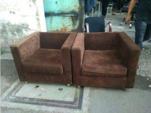 Thanh lý 2 ghế sofa tiếp khách cũ M02